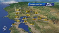 WEATHER FORECAST: Light rain continues through Sunday afternoon