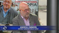 "Andrew Zimmern discusses ""Conversations at Copia"""