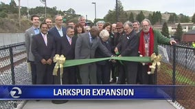 SMART Train Larkspur expansion opens