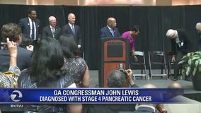 Rep. John Lewis announces Pancreatic cancer diagnosis