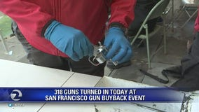 Nearly 1,000 firearms turned in at Bay Area buyback events
