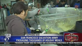 Volunteers pitch in for Salvation Army holiday meals