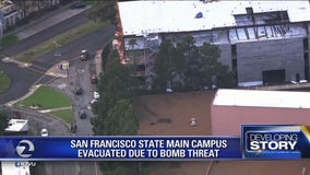 Main campus of San Francisco State University evacuated due to bomb threat