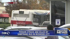 70-year-old woman killed by SamTrans bus