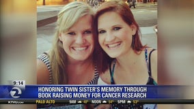 Bay Area woman honors sister's memory through memoir raising money for cancer research