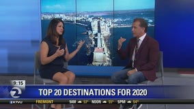 Travelzoo compiles its list of the top 20 destinations for 2020