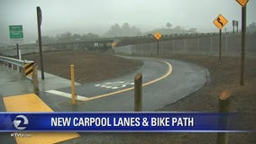 North Bay gets additional carpool lanes, bike path on Highway 101