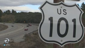 Another car hit by projectile on Highway 101 in Monterey County