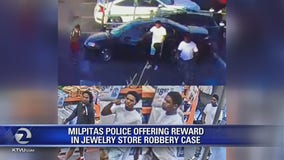 Milpitas offer reward for arrest of three robbery suspects