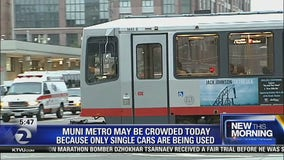 Muni trains might be more crowded