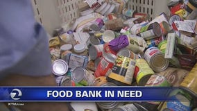 Food banks seek to stock shelves