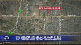 Investigation underway in Oakley house fire