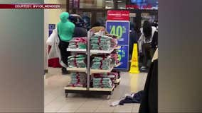 VIDEO: Shoplifters run off with piles of clothes from Hilltop Mall Sears