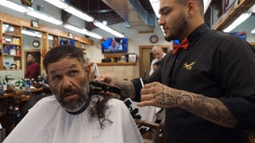 Homeless man's barbershop transformation goes viral