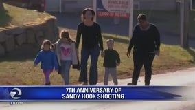 Several vigils mark seventh anniversary of Sandy Hook shooting