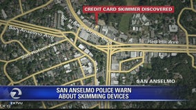 San Anselmo police warn public about skimming devices