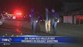 6-year-old boy shot in Vallejo upgraded to stable condition