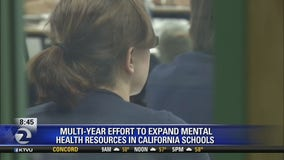New multi-year effort to expand mental health resources in California Schools