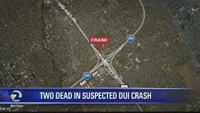 Two dead in suspected DUI crash in San Jose