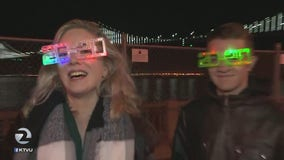 Thousands flock to San Francisco's waterfront to ring in 2020