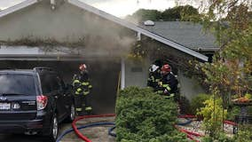 San Rafael home seriously damaged in afternoon fire