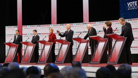 Democrats back Trump impeachment, discuss US role in world at sixth 2020 presidential primary debate