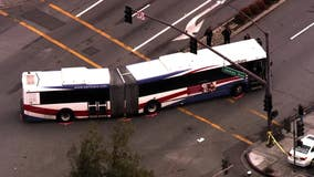 SamTrans bus strikes, kills woman, 70, in Redwood City