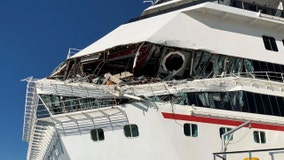 6 passengers hurt after 2 Carnival cruise ships collide in Mexico