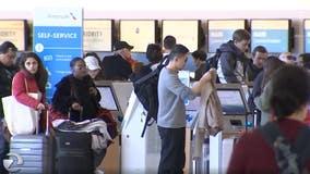 Post-holiday travel rush hits the Bay Area