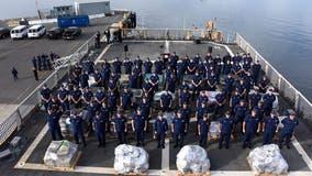 Alameda based Coast Guard cutter returns home after 82 day patrol