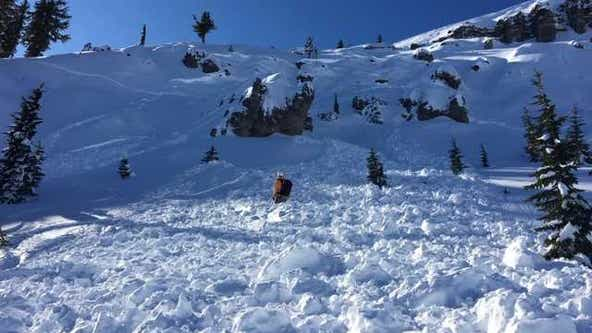Friends rescue snowboarder swept away, buried in Sierra avalanche