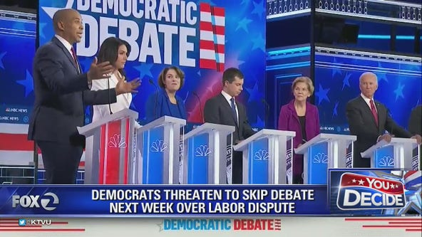 Democrats threaten to boycott next debate over labor dispute