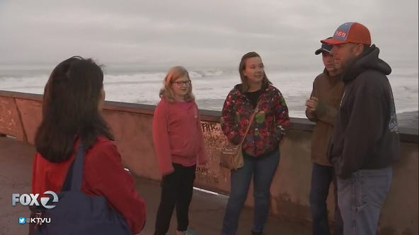 Pacifica Pier shutdown during high-surf advisory