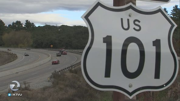 Detectives working to find suspect launching projectiles at vehicles on Highway 101
