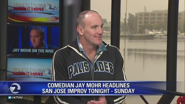 Comedian Jay Mohr at San Jose Improv