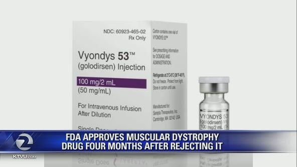 FDA approves muscular dystrophy drug