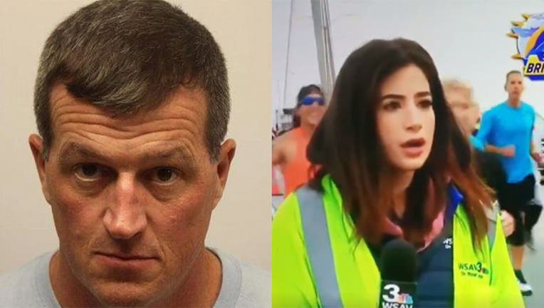 Thomas Callaway, a 43-year-old youth minister from Statesboro, was charged Friday with sexual battery, a misdemeanor, after slapping a reporter's rear on air.