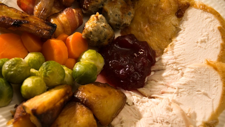 Christmas turkey dinner, 2006. Artist Historic England Staff Photographer. (Photo by English Heritage/Heritage Images/Getty Images)