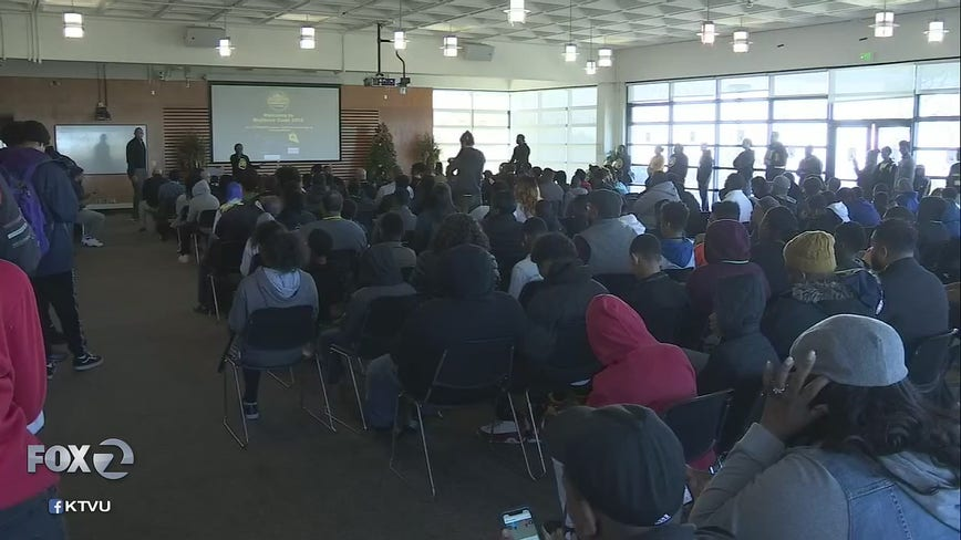 Hundreds of students learn about coding and tech in seventh annual Brothers Code Tech Slam in Oakland