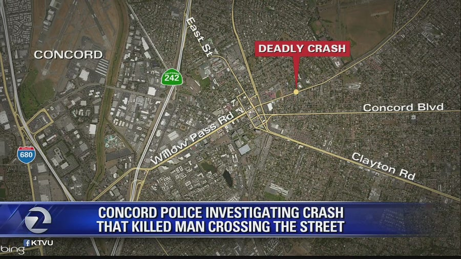 Car hits and kills 63-year-old man in a wheelchair in Concord