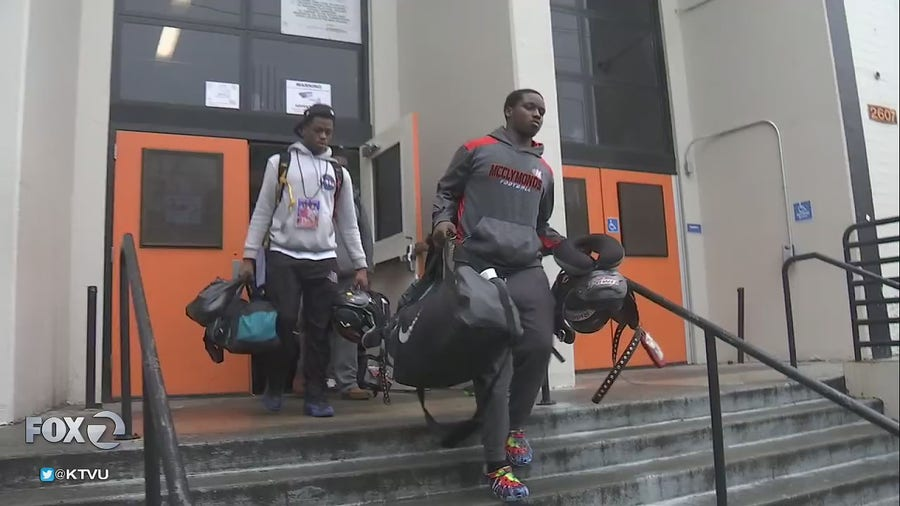 McClymond High School football team headed to SoCal to play for a fourth State Championship Title