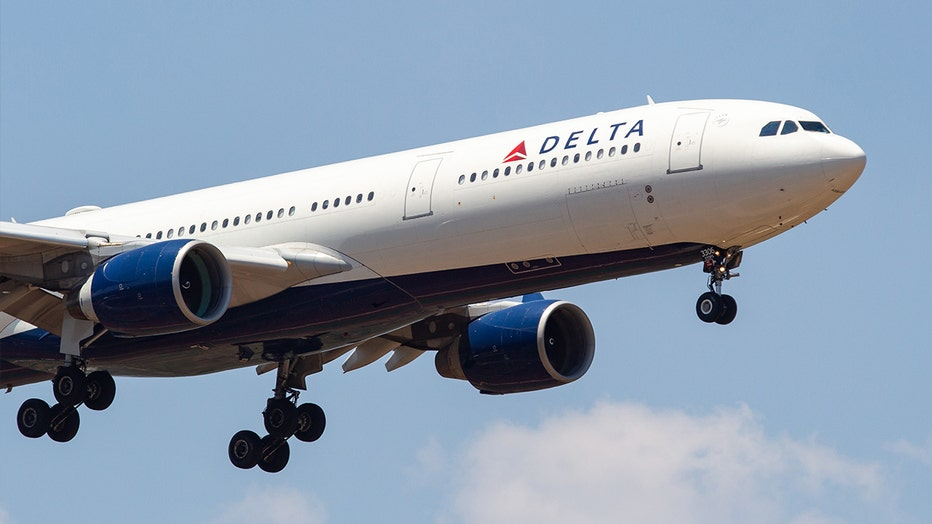 Delta Airlines CEO Ed Bastian announced that the company plans to hire 12,000 new employees by next year. Pictured is a Delta Air Lines Airbus A330-300.