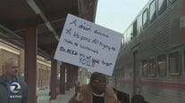 "Annual ""Celebration Train"" honors MLK with 51-mile trip from San Jose to San Francisco"