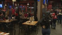 Fans watch 49ers Sunday evening victory from Sauced BBQ and Spirits in Walnut Creek