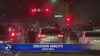 4 arrested following Santa Rosa sideshows