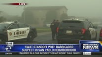 SWAT standoff in San Pablo after suspect barricades himself inside: sheriff