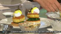 Top Chef contestant shows how to make Crab Cake Benedict
