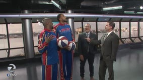Harlem Globetrotters on The Nine