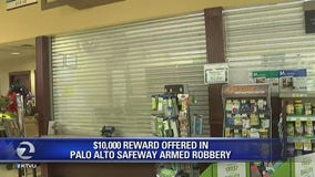 $10,000 reward for information in Palo Alto Safeway armed robbery
