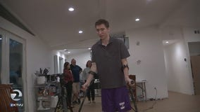 Paralyzed wrestler now walking, will return to Pleasant Hill high school